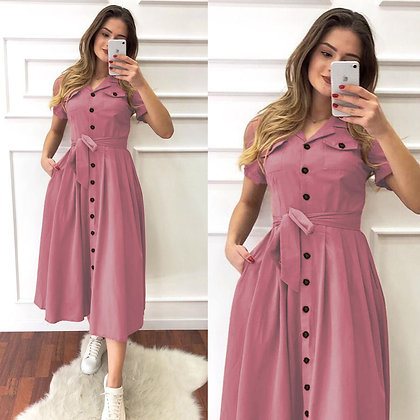 Designer Peach Color Rayon Two Pocket Kurti For Women's and Girl's