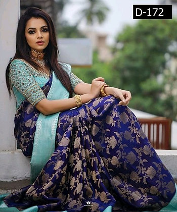 Litchi Silk Sensational Sarees
