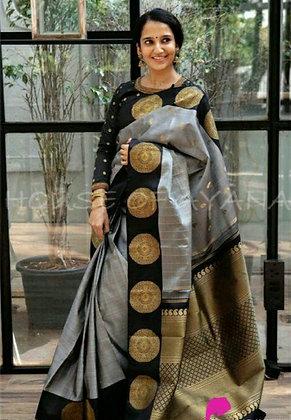 Trendy Ensemble Banarasi Silk Sarees