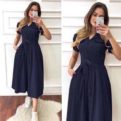 Designer NavyBlue Color Rayon Two Pocket Kurti For Women's and Girl's
