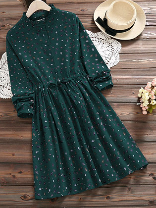 Latest Designer Green Color Two way Embroidered Top For Girl's and Women