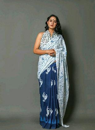 Designer Cotton Silk Graceful Sarees