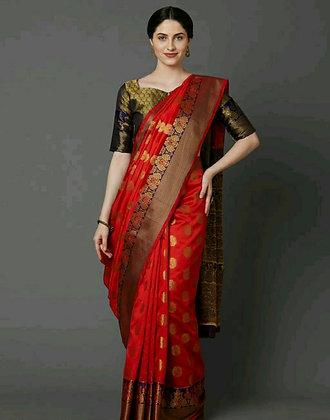 Silk Blend Alluring Sarees