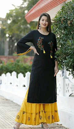 Trendy Attractive Kurta Set