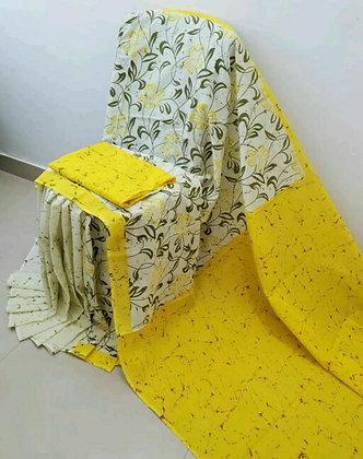 Designer Voguish Cotton mulmul printed Sarees
