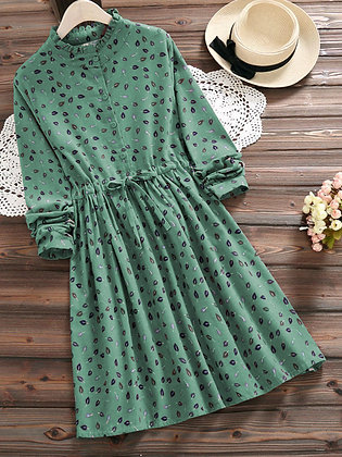 Latest Designer Pista Color Two way Embroidered Top For Girl's and Women