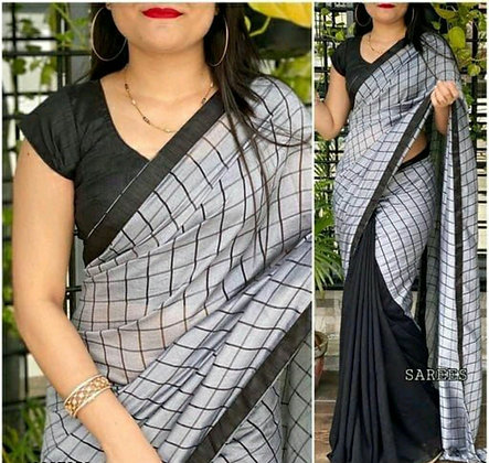 Latest  Designer Vichitra Silk Saree