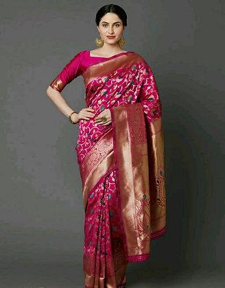 Designer Silk Refined Sarees