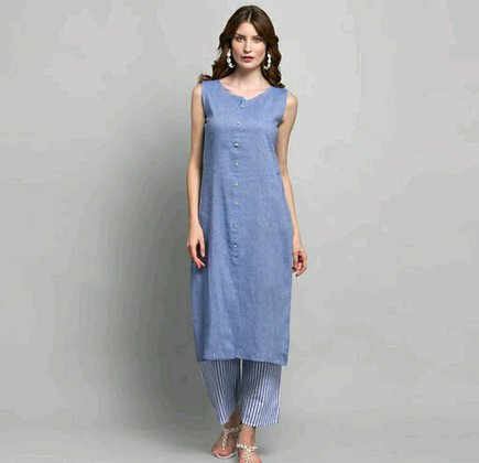 Stylish Cotton Printed Women's Kurta Sets