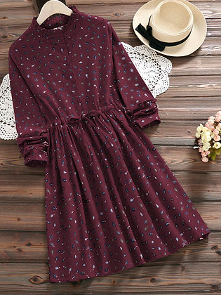 Latest Designer Wine Color Two way Embroidered Top For Girl's and Women