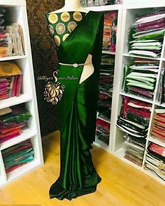 Trendy Satin Silk Women's Sarees