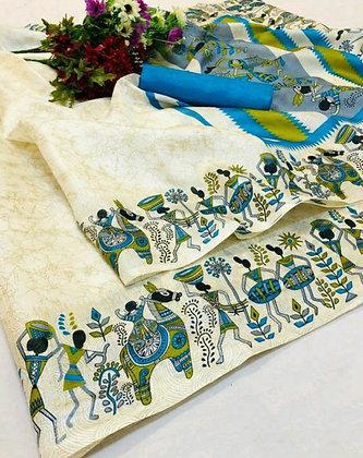 Khadi Silk Sensational Sarees