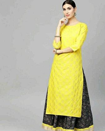 Stylish Rayon Printed Women's Kurta Sets