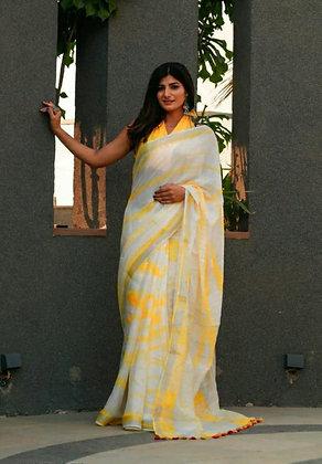 Cotton Linen Drishya Sarees