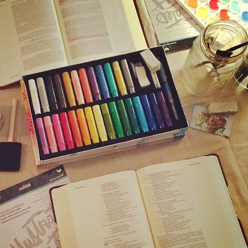 Donate an Art Journaling Bible