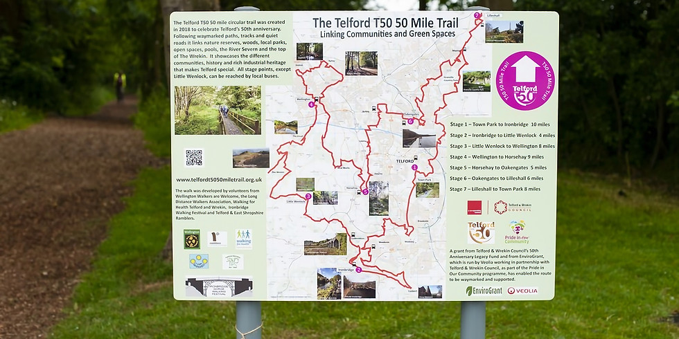 2020 AGM. Friends of the Telford T50 50 Mile Trail