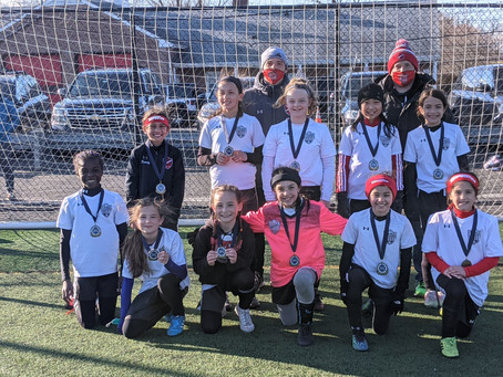 2011 Red Girls Win Union County Spring Kickoff Tournament!