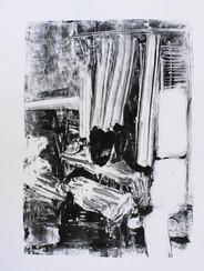 inside, print on paper, 70x50