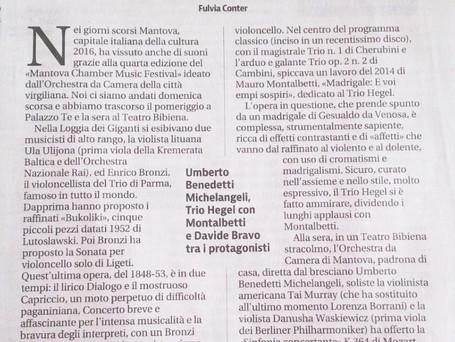 Giornale di Brescia 2016