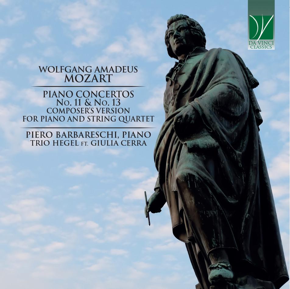 W. A. Mozart Piano Concertos No. 11 & 13 composer's version for piano and string quartet - 2019