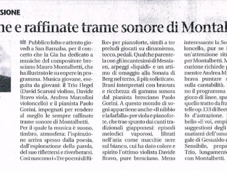 Giornale di Brescia 5/4/2014