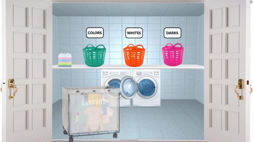 washing sorting