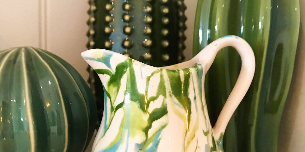 Pottery Marbling Workshop