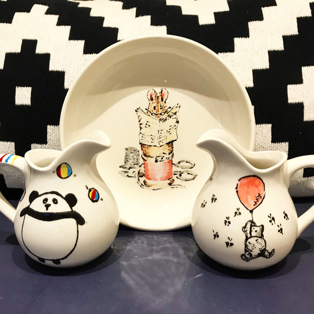 The Yard Pottery Painting