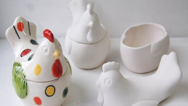 Chicken Storage Pot