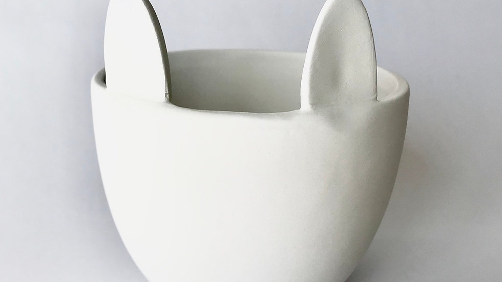 Animal Ears Bowl/ Plant Pot