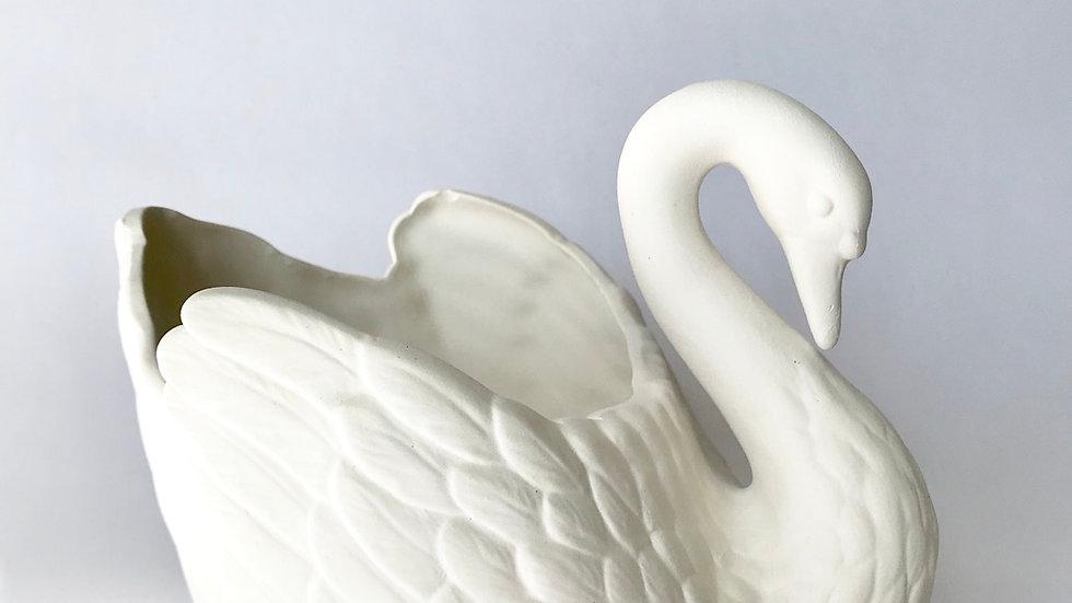 Retro Swan Planter