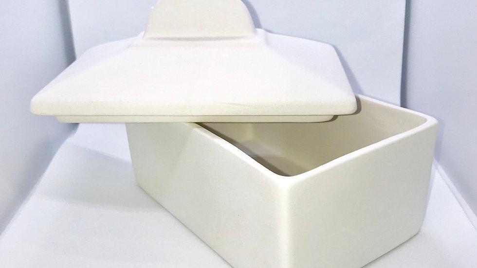 Art Deco Butter Dish