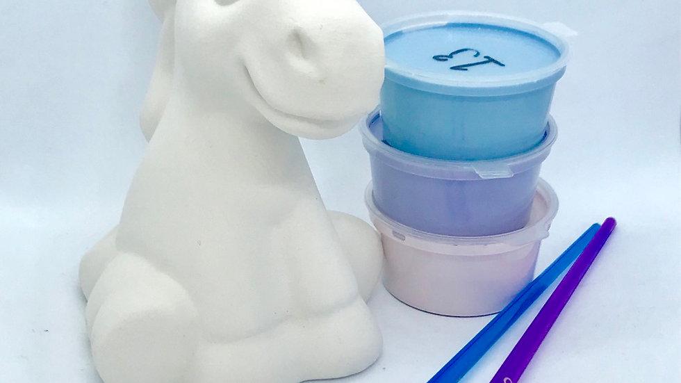 Unicorn Pottery Painting Kit