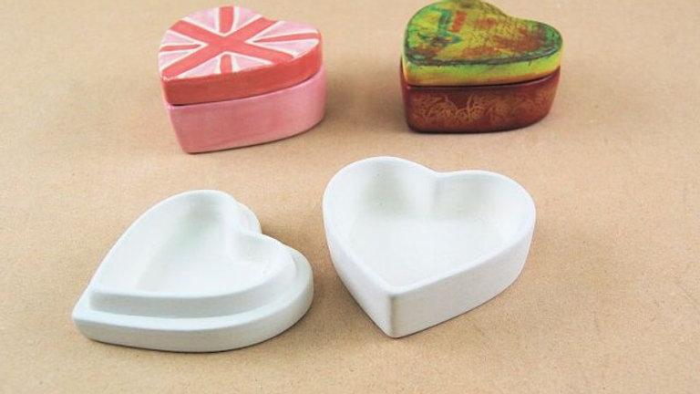 Small Heart Trinket Box