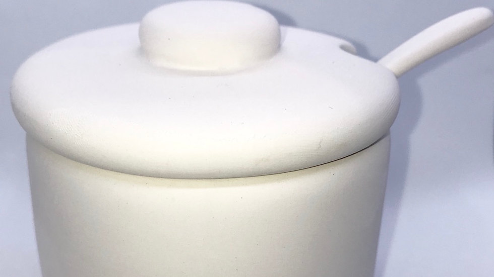 Condiment or Jam Pot