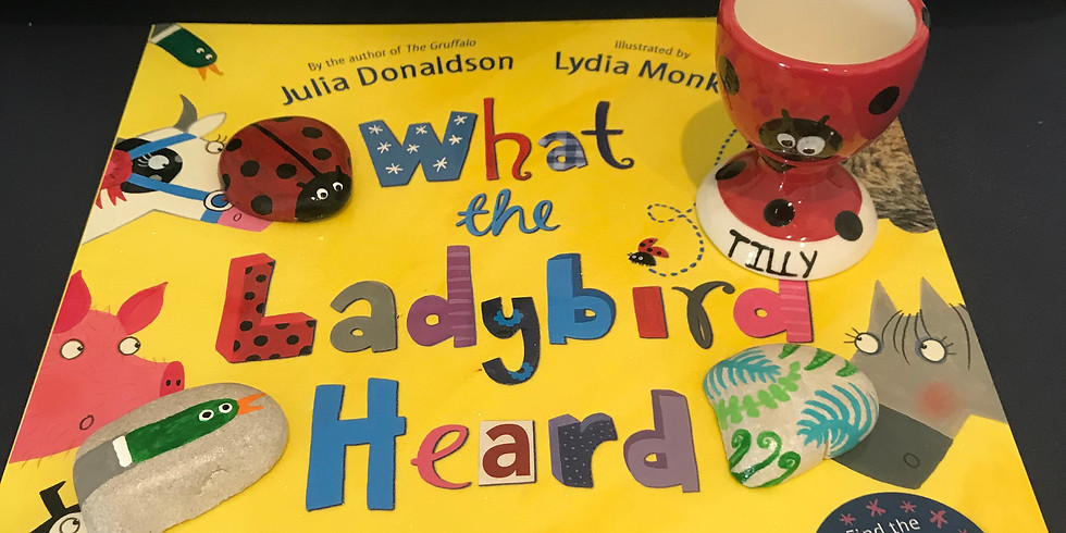 Pre-schoolers Story Time - What The Ladybird Heard