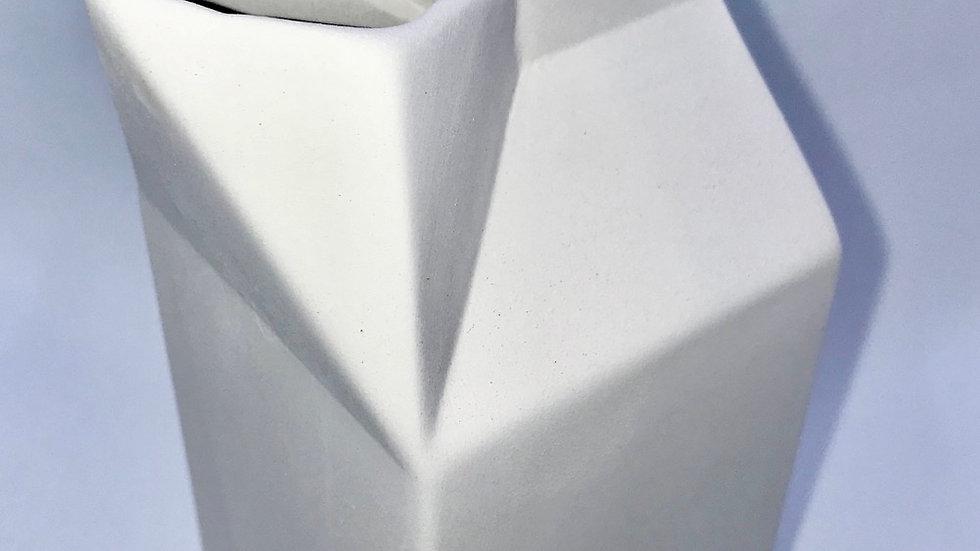 Milk Carton Vase/ Jug