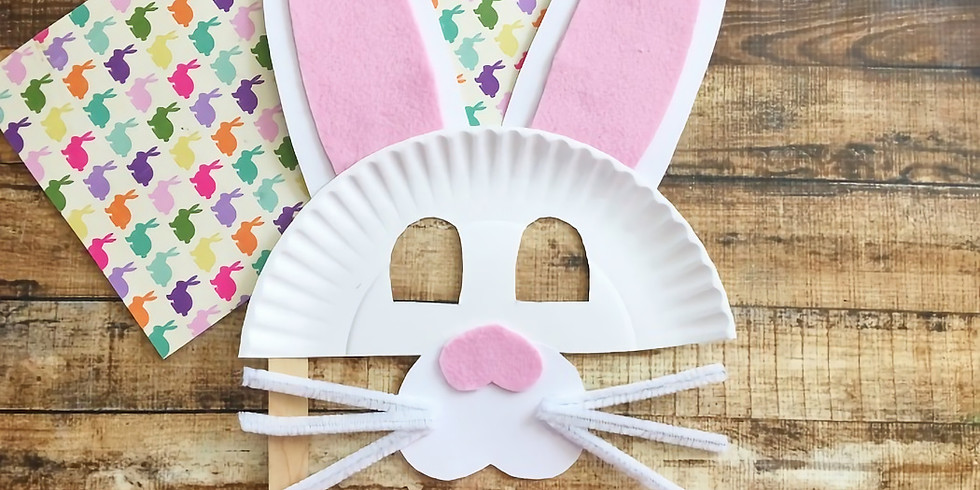 Easter Family Fun - Paper Plate Bunny Masks