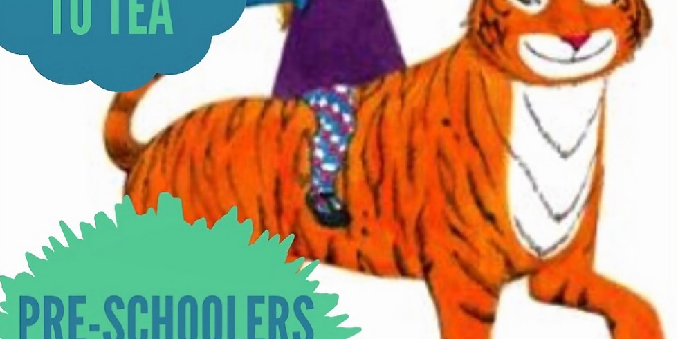 Pre-schooler Story Time & Pottery Painting - The Tiger that Came to Tea.