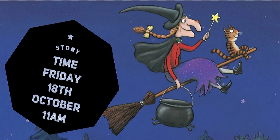 Room on the Broom - Pre-schooler Story Time & Pottery Painting