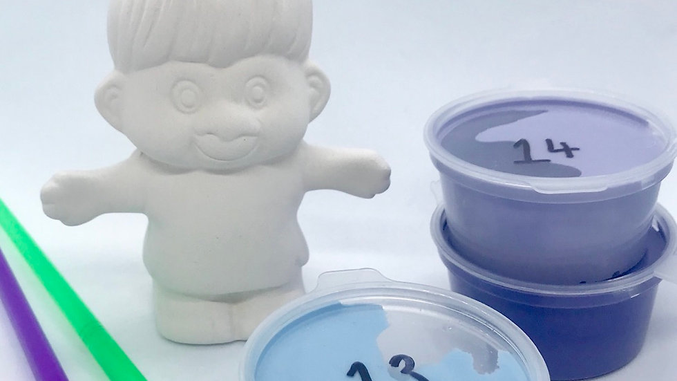 Troll PotteryPainting Kit