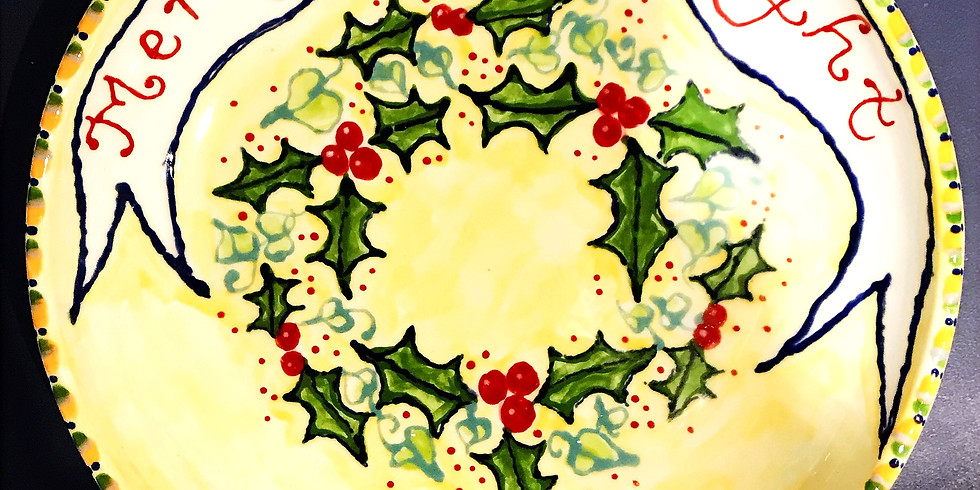 Christmas Pottery Painting Evening