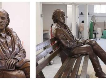 Споменикот за Горан Стефановски е готов и ќе биде поставен во неговото Дебар Маало