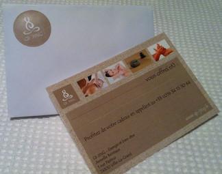 Pensez à vos proches : offrez leur une carte cadeau !