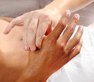 Massage relaxant des mains