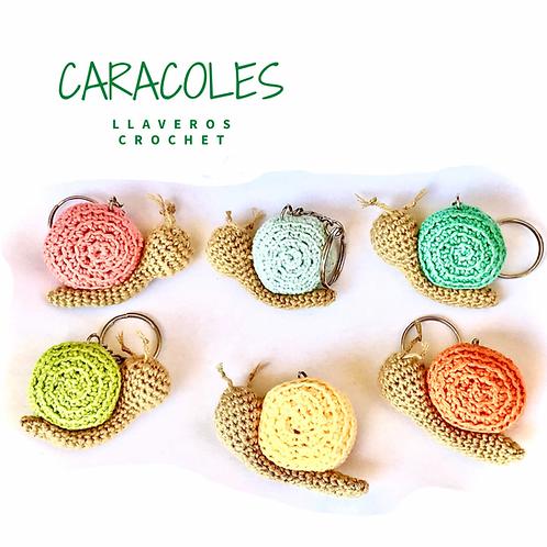 Llaveros - Caracoles