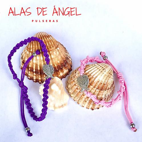 Pulseras - Alas de Ángel