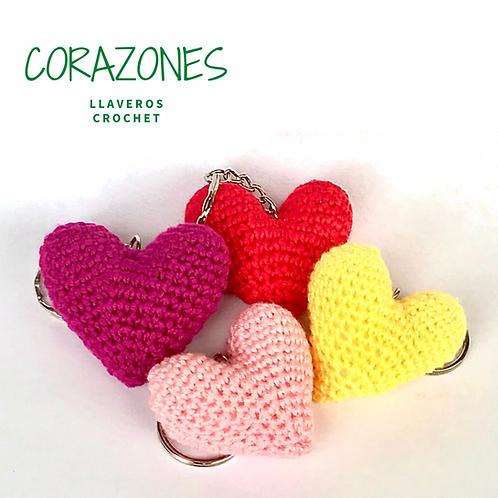 Llaveros - Corazones Lisos