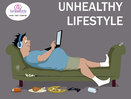 Do you know an unhealthy routine make your lifestyle scattered?