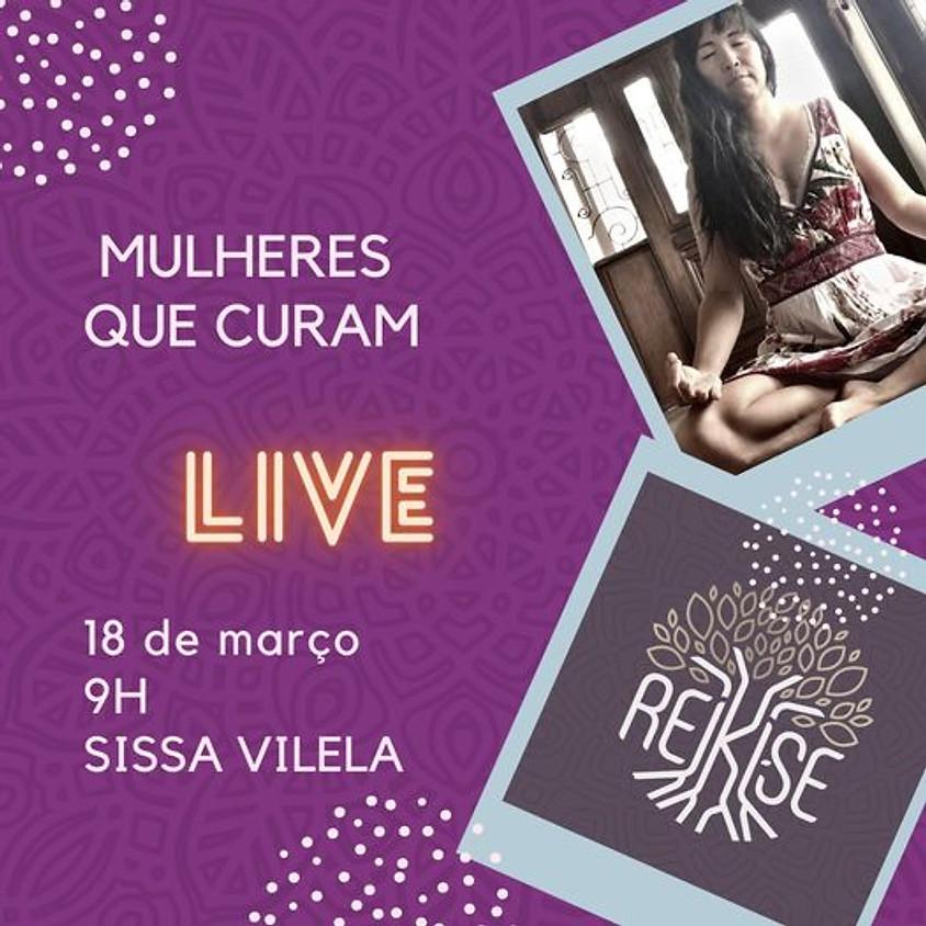 Live: Mulheres que curam